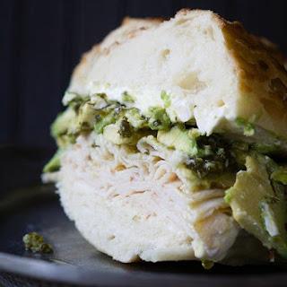 The Green Gobbler Sandwich