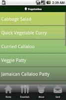 Screenshot of Jamaican Recipes