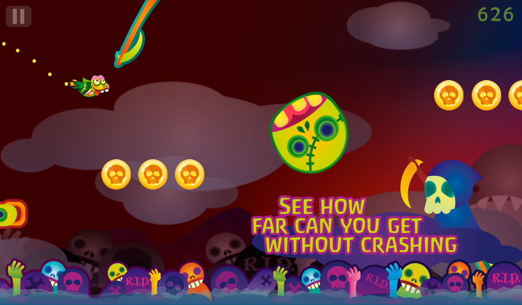 Zombie Bird: Vampire Sharks - screenshot