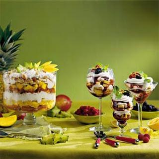 Jumbleberry Trifle