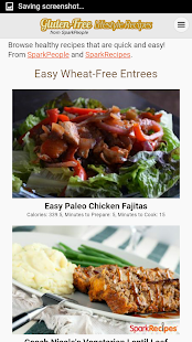 Gluten-Free Lifestyle Recipes- screenshot thumbnail