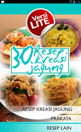 30 Resep Kreasi Jagung Lite
