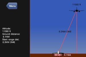 Screenshot of Nav Trainer Pro for Pilots