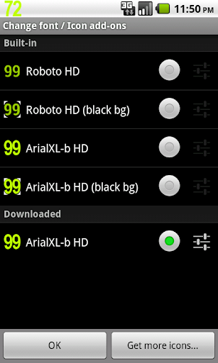 BN Pro ArialXL-b HD Text screenshot for Android