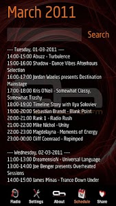 AH.FM - Leading Trance Radio screenshot 1