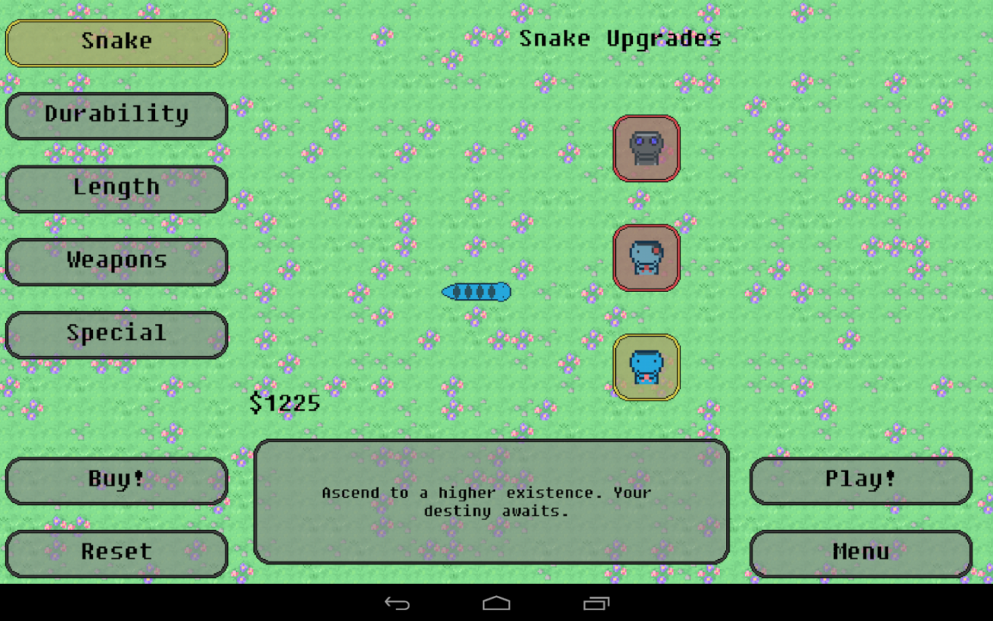 Steve: Snake Evolved- screenshot