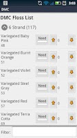 Screenshot of Floss Checklist