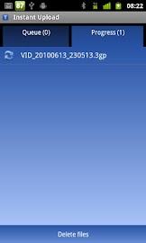 Instant Upload Screenshot 2