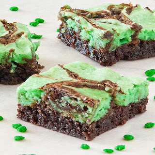 St. Patty's Day Brownies.