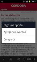 Screenshot of El Diario de Córdoba