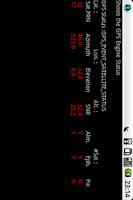 Screenshot of Sensor and GPS Monitor