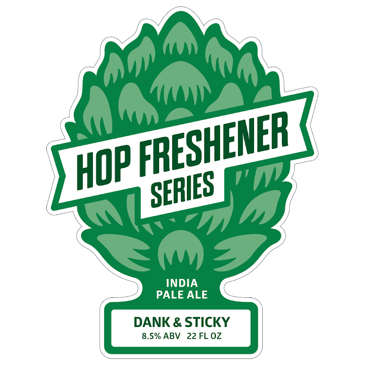 Logo of The Hop Concept Dank & Sticky IPA