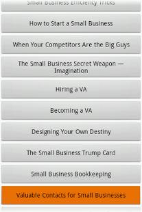 Audiobook - Small Business- screenshot thumbnail