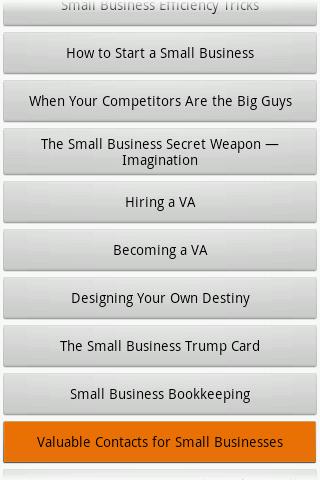 Audiobook - Small Business- screenshot