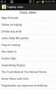 Tagalog Jokes- screenshot thumbnail