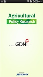 Agricultural Policy Research- screenshot thumbnail