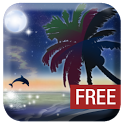 Galaxy Beach Wallpaper FREE icon