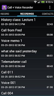 Call + Voice Recorder Pro - screenshot thumbnail