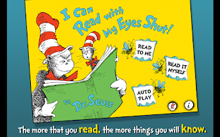 Screenshot of I Can Read with my Eyes Shut