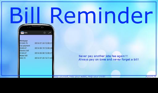 Bill Reminder Free