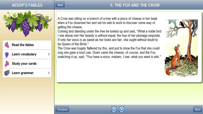 Learn English: Aesop's Fables- screenshot