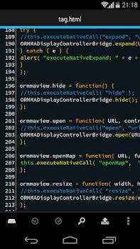 DroidEdit (free code editor)
