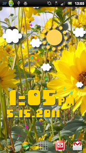 Weather Flow ! Live Wallpaper Screenshot 24