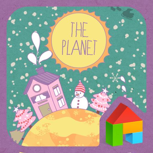 Planet dodol launcher theme LOGO-APP點子