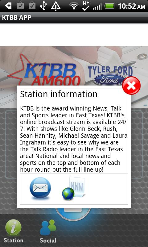KTBB APP - screenshot