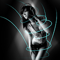 Motion Girl Live Wallpaper logo