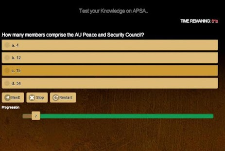 African Union Peace & Security- screenshot thumbnail