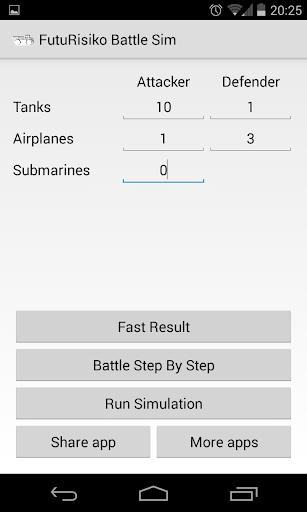 FutuRisiko Quickest Simulator