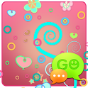 GO SMS Pro Pastel Pink Theme icon