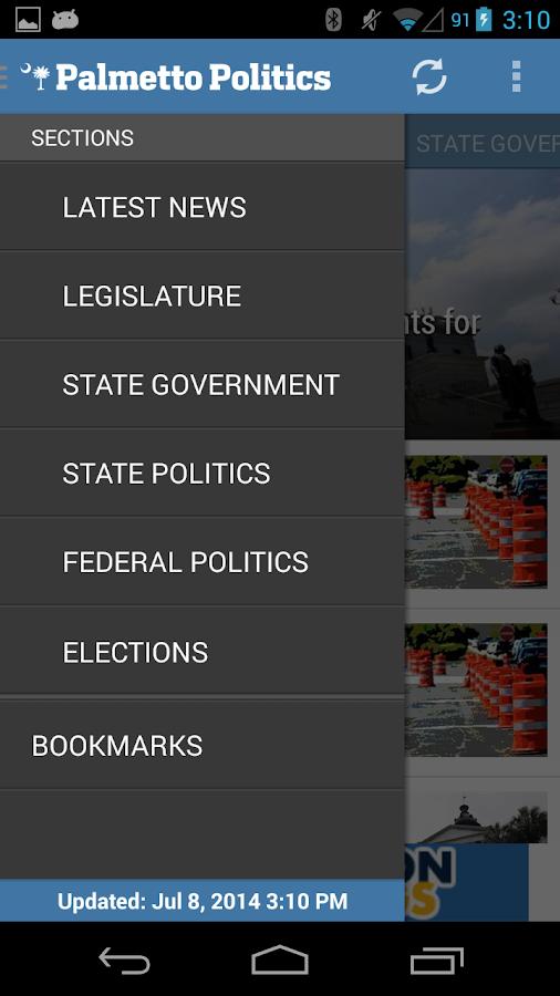 Palmetto Politics - screenshot