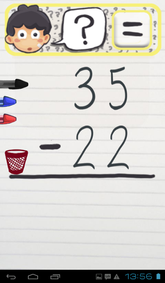 Substractions for kids- screenshot
