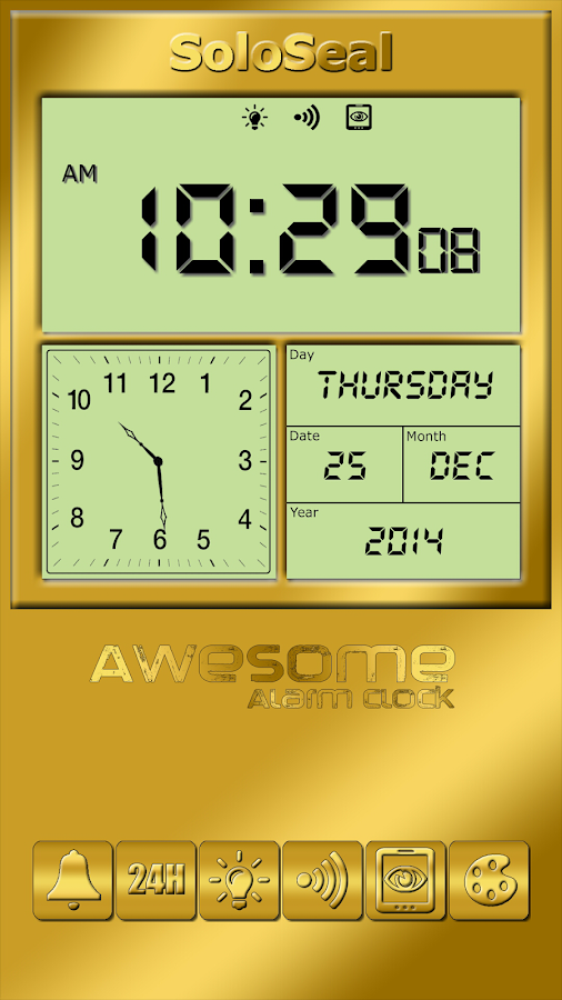 Awesome Alarm Clock- screenshot