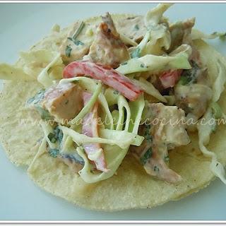 Chicken Salad Tacos.