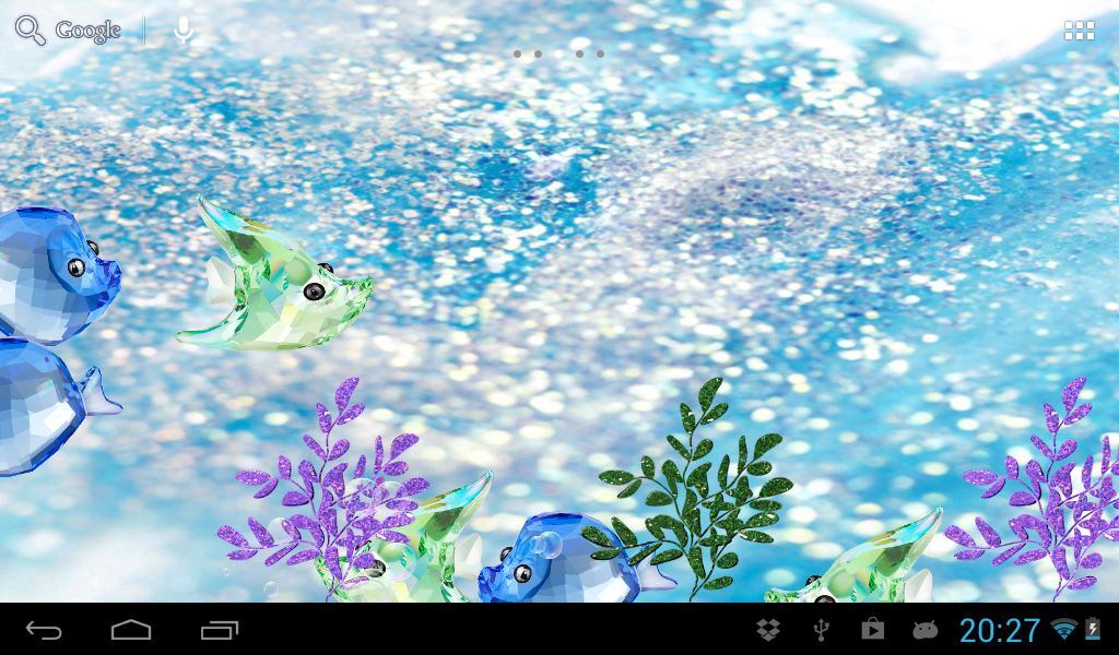 crystal fish aquarium - photo #1