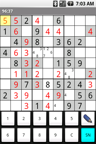 Best Sudoku - screenshot