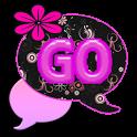GO SMS THEME/PinkDaisy4U icon