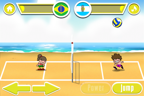 Beach Volleyball Game- screenshot thumbnail
