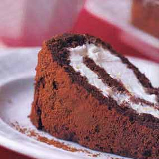 Lighter-Than-Air Chocolate Roll