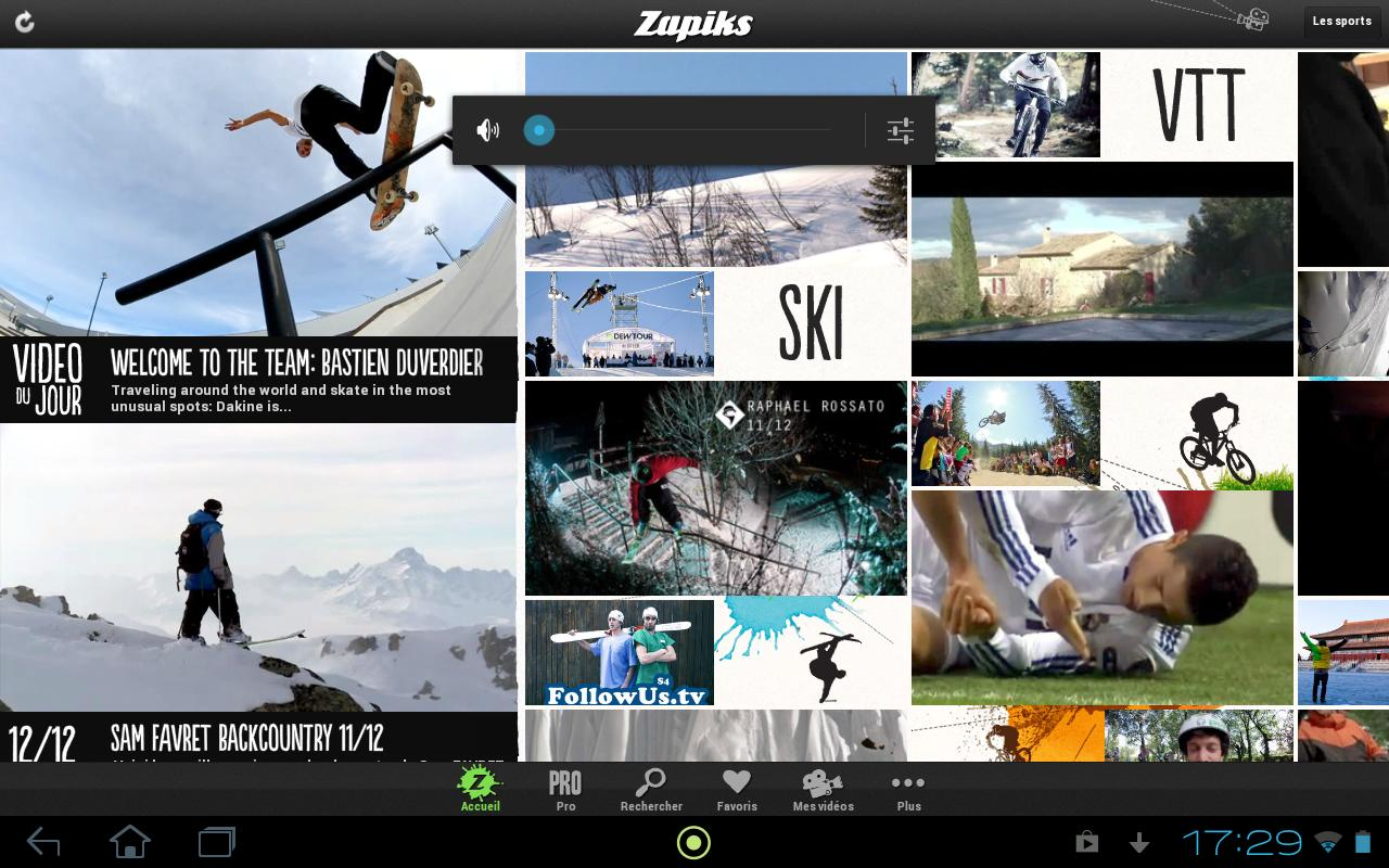 Zapiks - screenshot