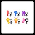 メール素材 - 記号と人01(記号) icon