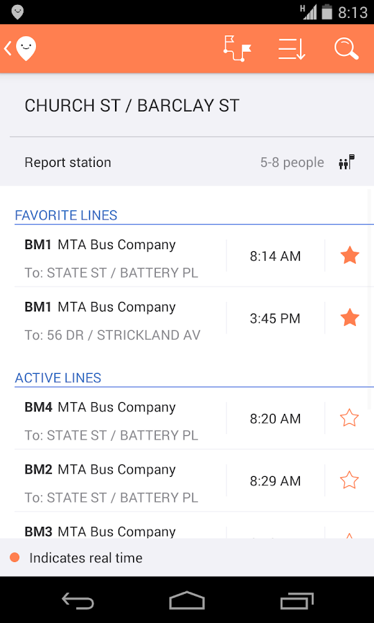Moovit: Real-Time Transit Info - screenshot