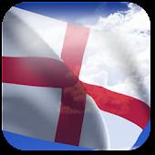 3D England Flag