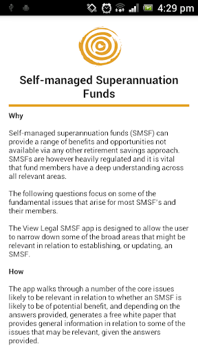 View Legal SMSF