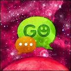 GO SMS PRO Theme Galaxy