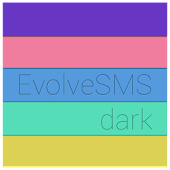 Evolve SMS Colorful Tags Dark