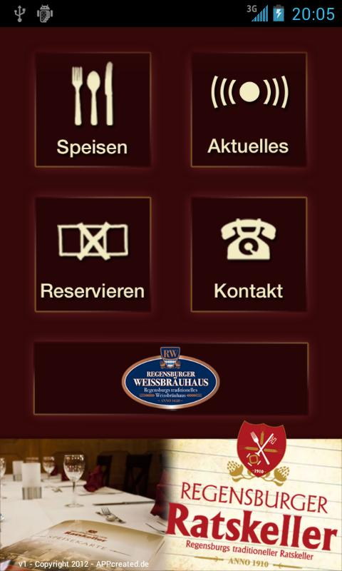 Regensburger Ratskeller- screenshot